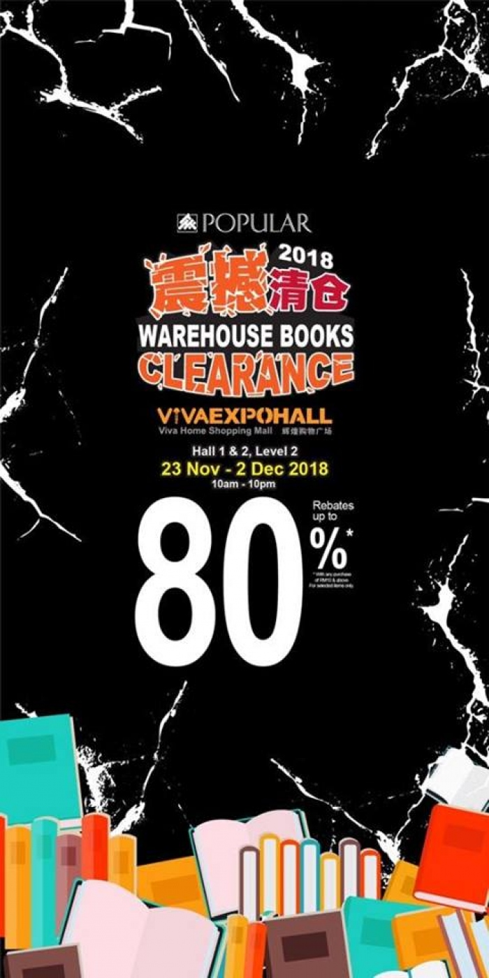 POPULAR Warehouse Books Clearance @ VivaHome