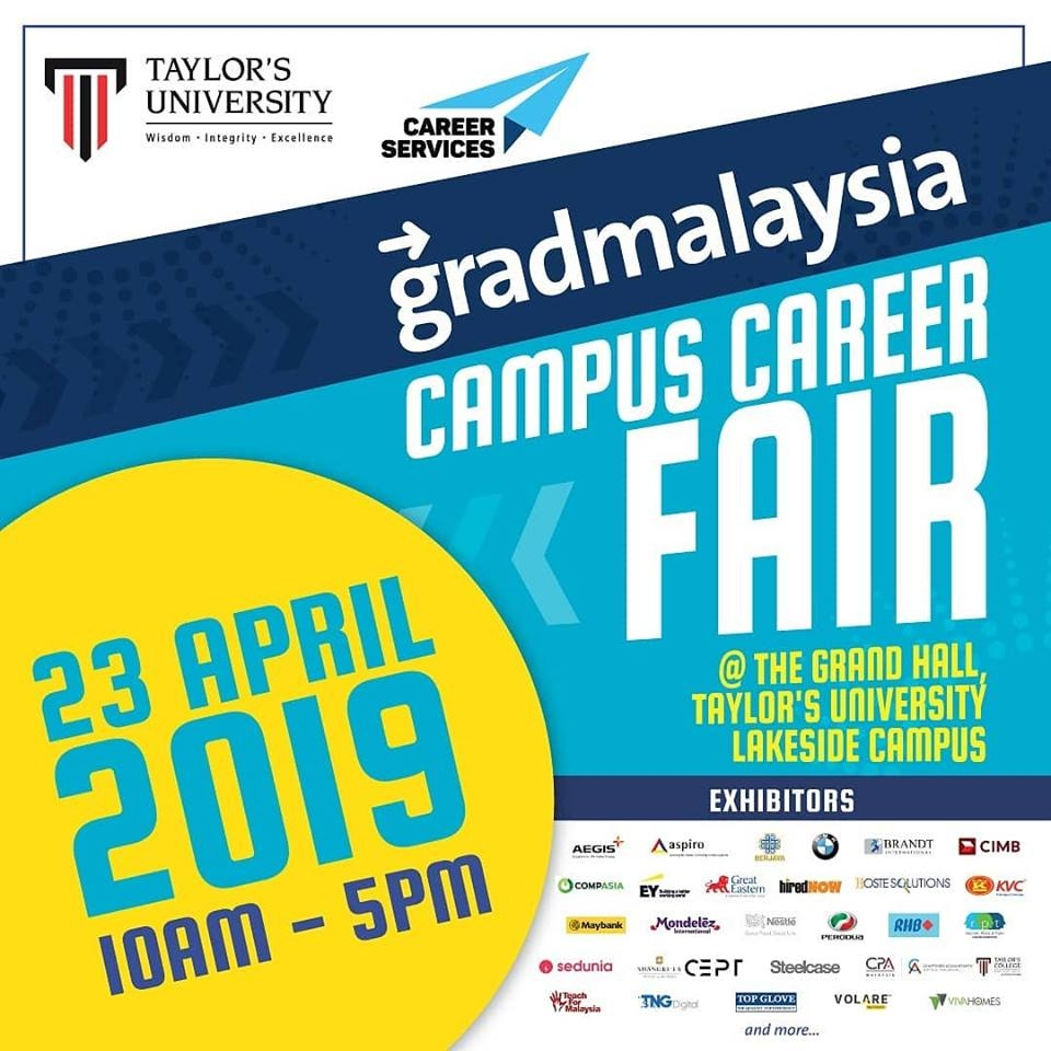 gradmalaysia Campus Career Fair 2019