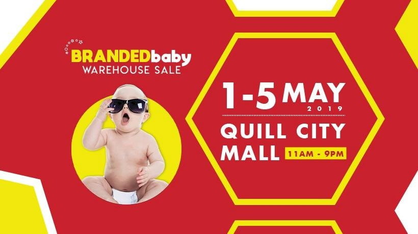 Branded Baby Warehouse Sale - As Low As RM1