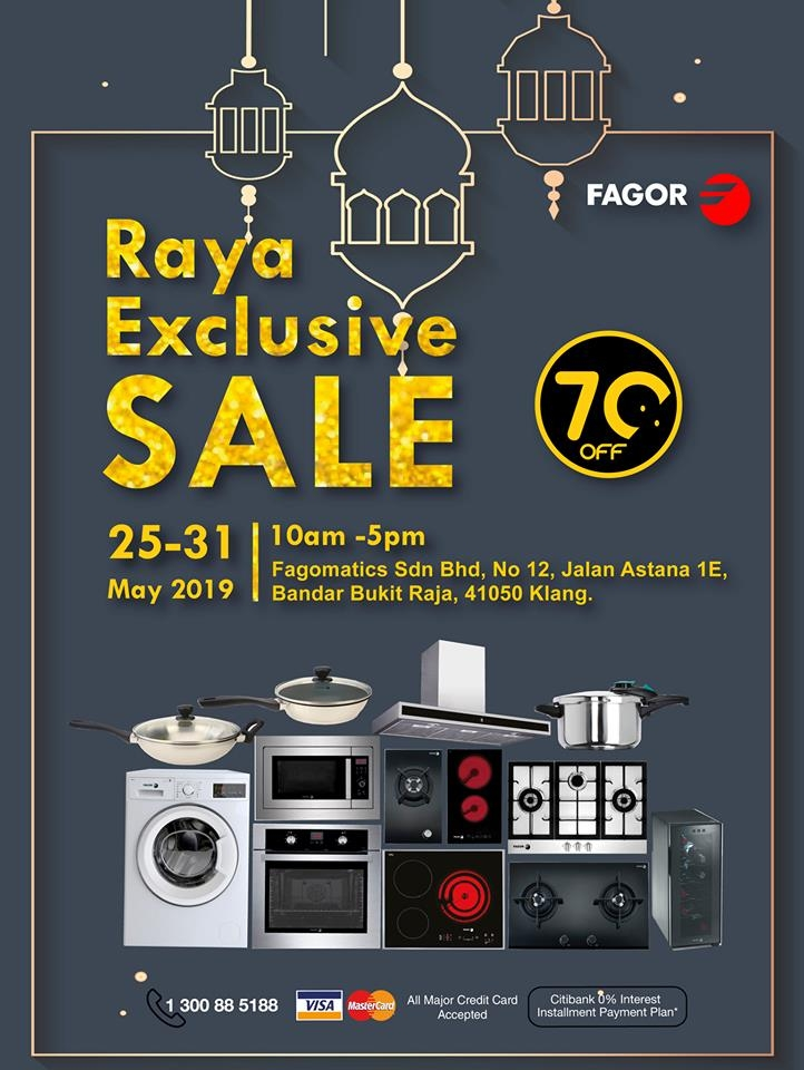 Fagor Raya Exclusive Sale - Up To 70% OFF