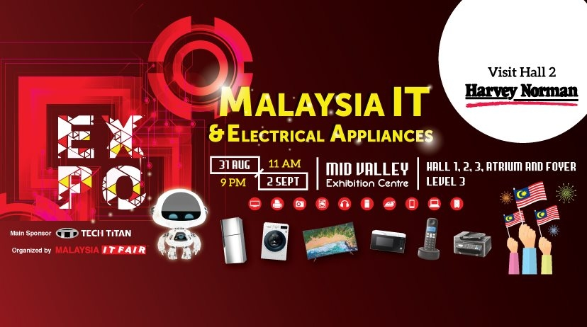 Malaysia IT & Electrical Appliances Expo 2019