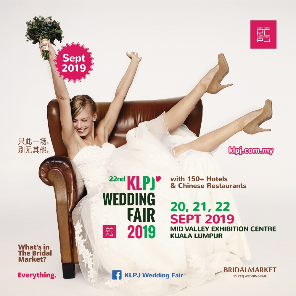 22nd KLPJ Wedding Fair 2019 (SEPTEMBER 2019)