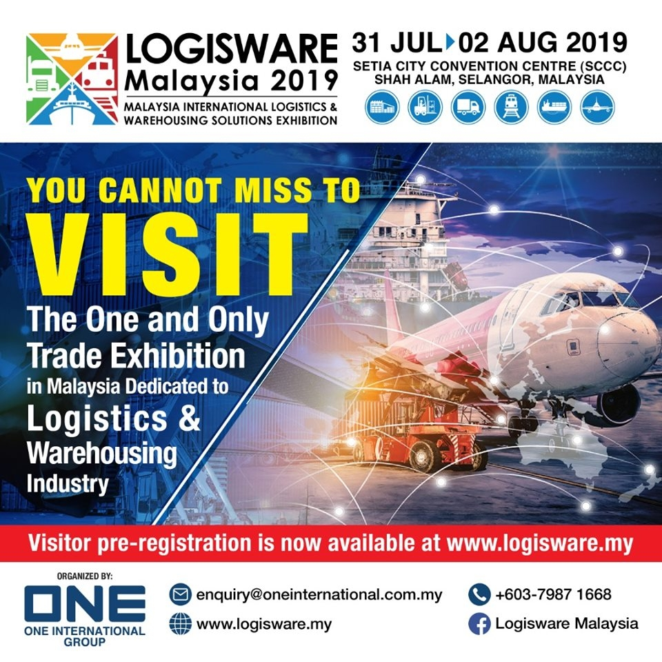 LogisWare 2019 – Malaysia International Logistics & Warehousing Solutions Exhibition