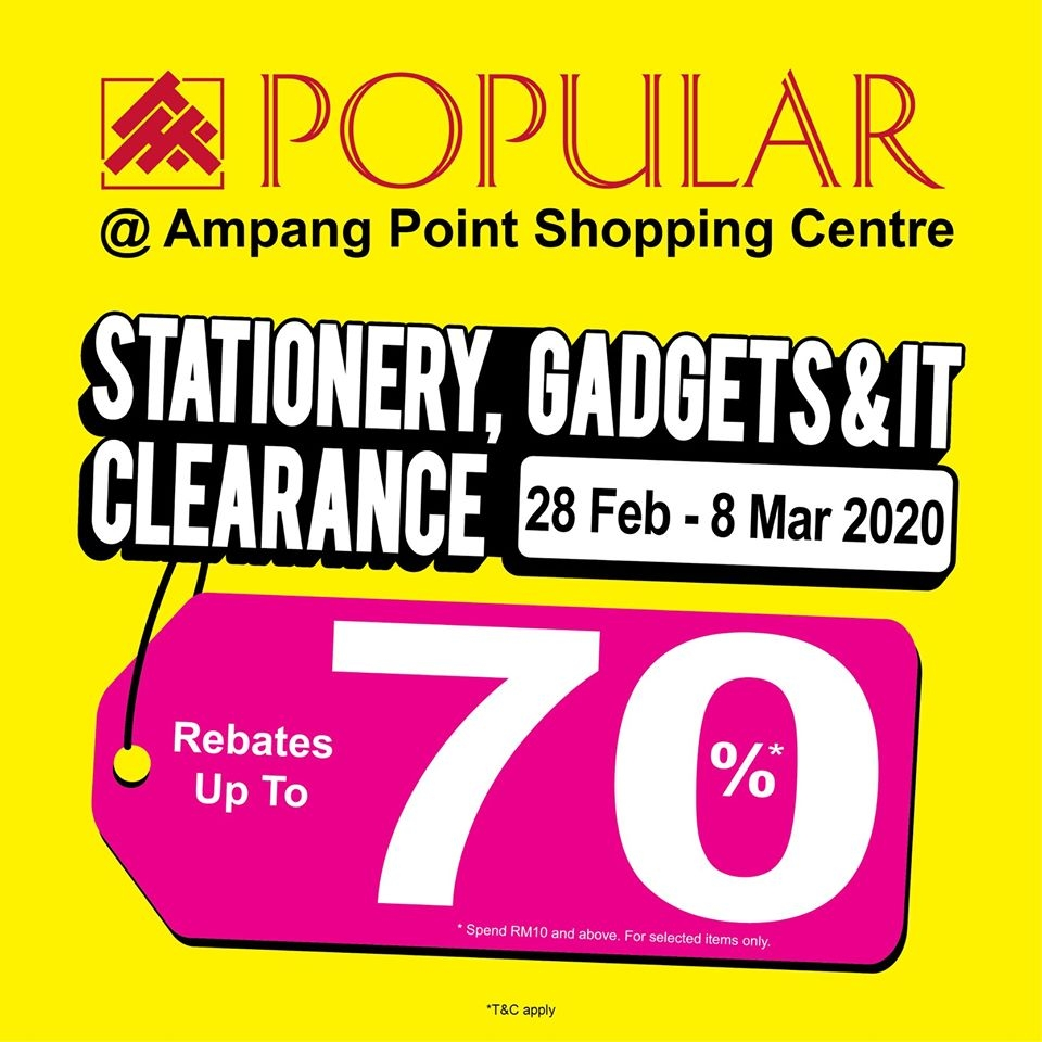 Popular Stationery Gadgets & IT Clearance Sale - Up To 70% OFF