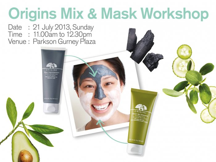 Origins Mix & Mask Workshop