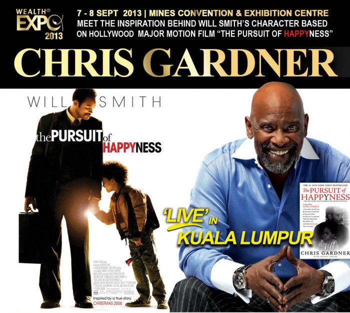 "Chris Gardner ""The Pursuit of Happyness"" LIVE in Kuala Lumpur 2013"