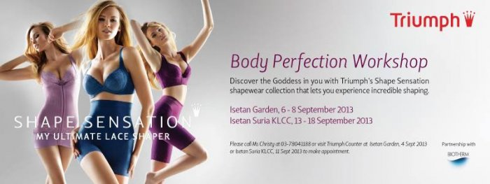 Body Perfection Workshop by Triumph