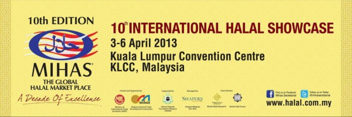 10th International HALAL Showcare (MIHAS 2013)