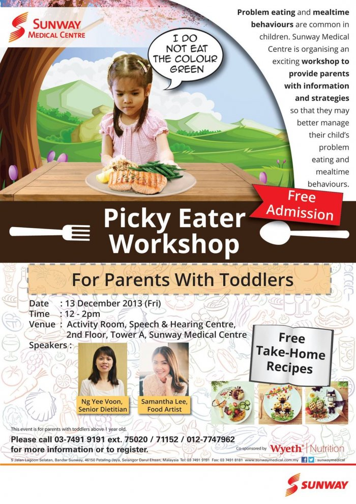 Picky Eater Workshop - For Parents with Toddlers