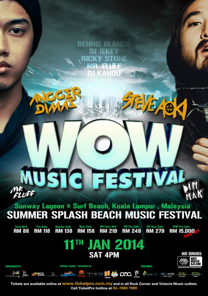 The WOW Summer Splash Beach Festival 2014