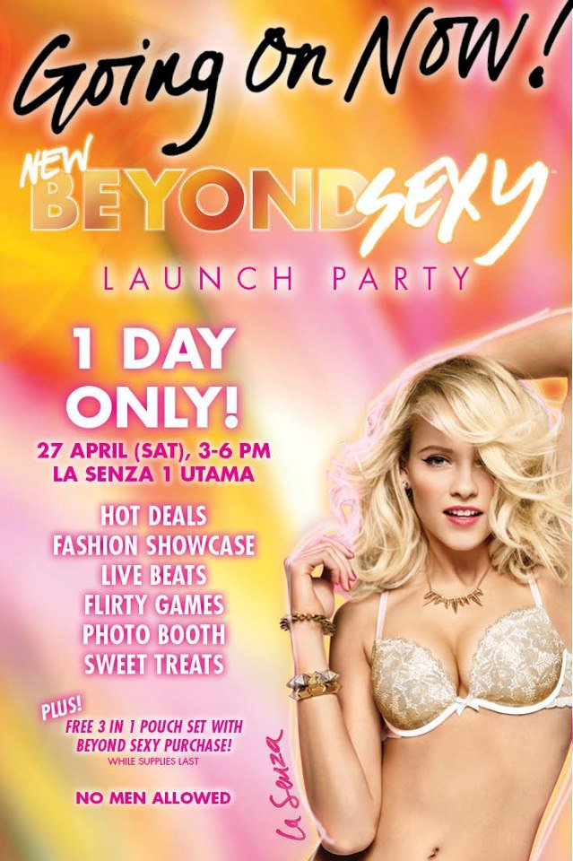 La Senza NEW Beyond Sexy Launch Party