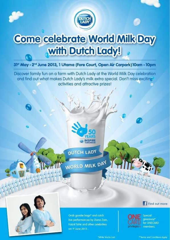World Milk Day With Dutch Lady