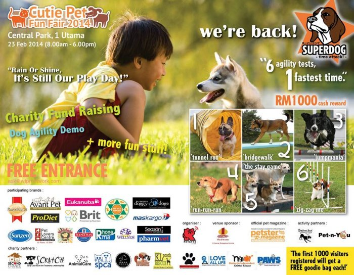 Cutie Pet Fun Fair 2014