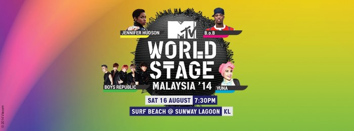 MTV World Stage Live In Malaysia 2014