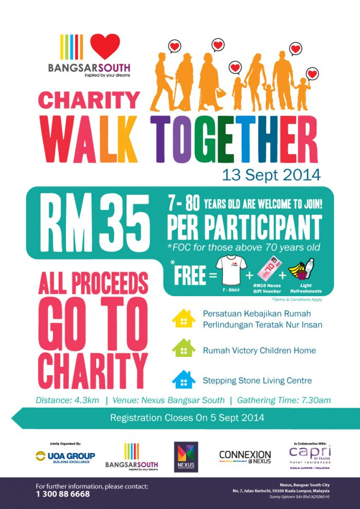 Charity Walk Together 2014