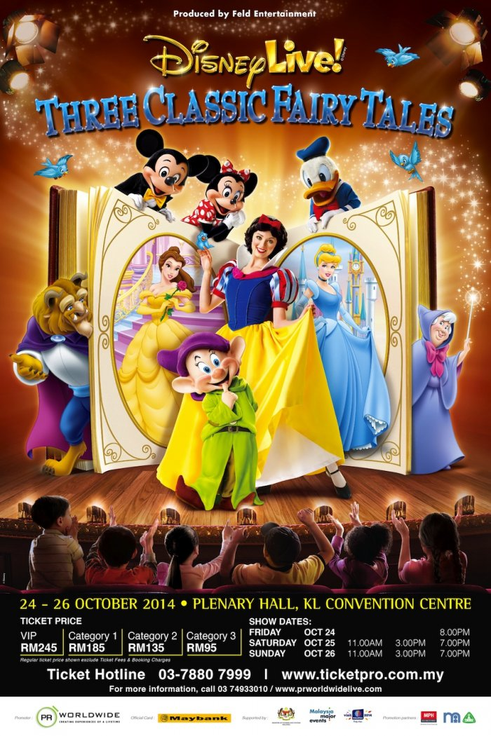 DISNEY LIVE! 2014 - Three Classic Fairy Tales