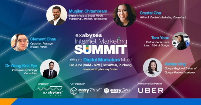 Exabytes Internet Marketing Summit 2016