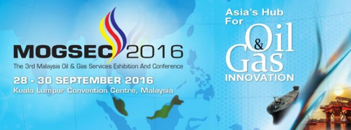 The 3rd Malaysian oil & gas services exhibition and conference (MOGSEC) 2016
