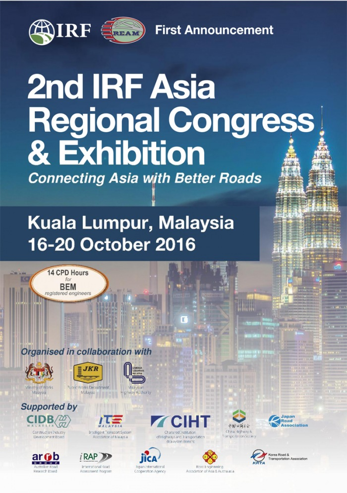2nd IRF Asia Regional Congress 2016