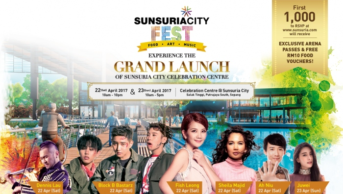 Sunsuria City Fest - Grand Launch of Sunsuria City Celebration Centre
