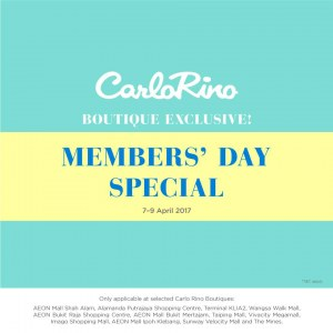 Carlo%20Rino%20Boutique%20Exclusive%20Member%27s%20Day%20Special