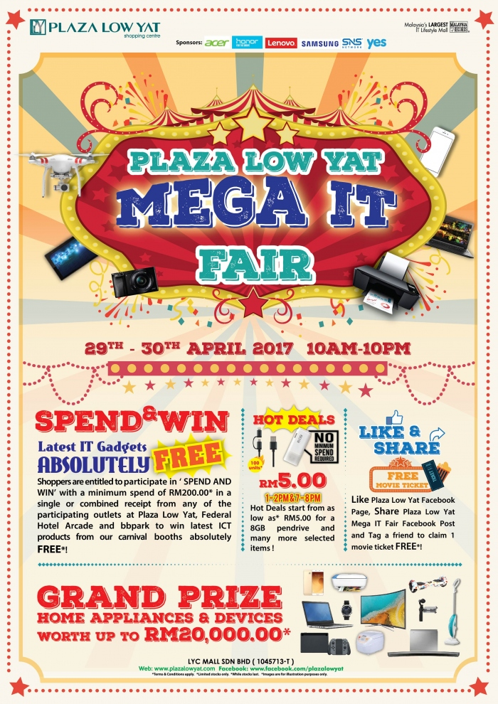 Plaza Low Yat Mega IT Fair
