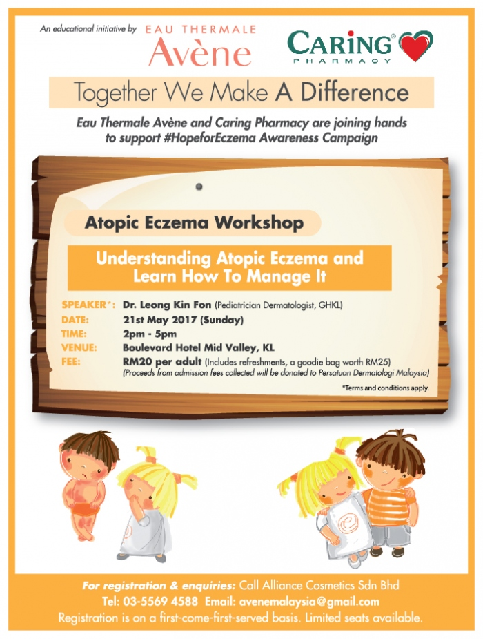 CARiNG Pharmacy & Eau Thermale Avene - Atopic Eczema Workshop