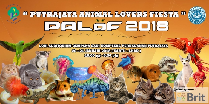 Putrajaya Animal Lovers Fiesta - PALOF 2018