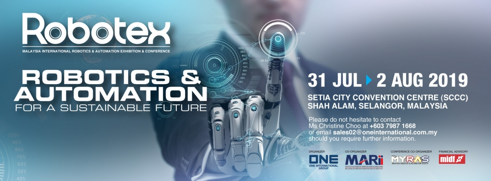 Robotex 2019 - Malaysia International Robotics & Automation Exhibition & Conference