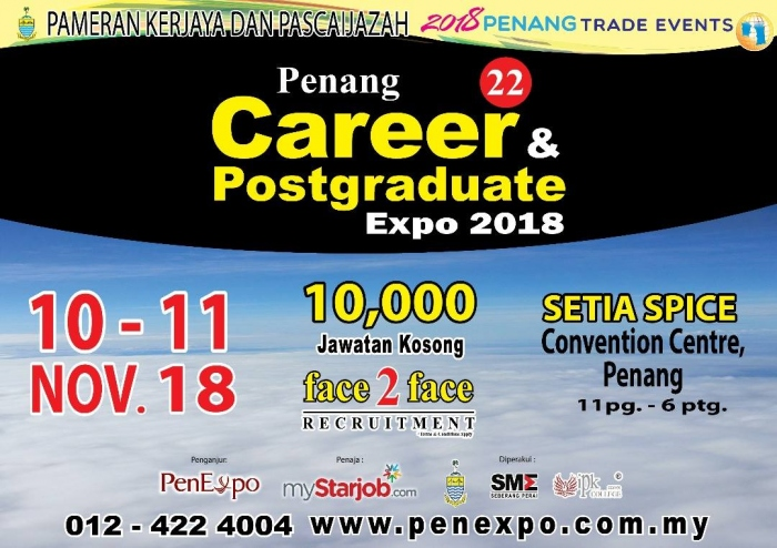 22nd Penang Career & Postgraduate Expo 2018