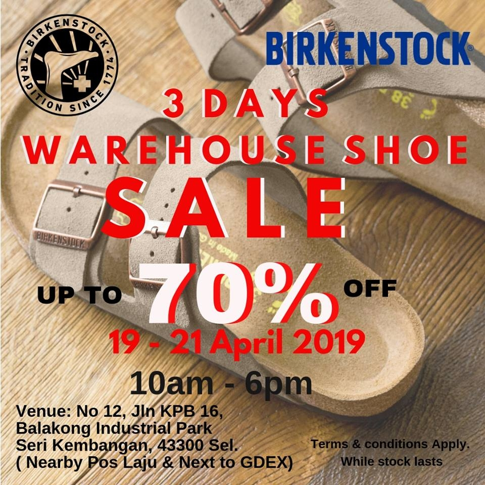Birkenstock Warehouse Sale - Discounts Up To 70% OFF