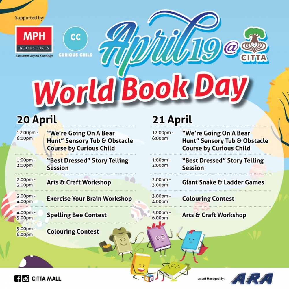 World Book Day at CITTA Mall