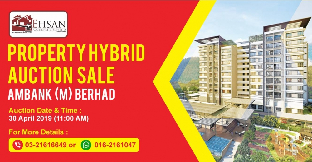 Property Hybrid Auction Sale Ambank