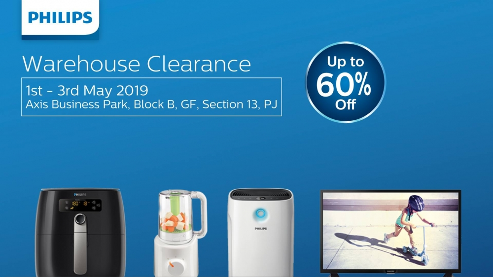 Philips Warehouse Clearance Sale - Up To 60% OFF