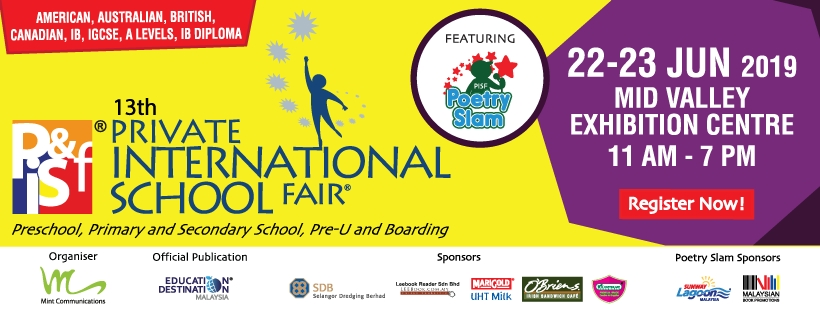 13th Private & International School Fair in Kuala Lumpur