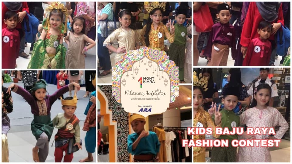1 Mont Kiara Kids Baju Raya Fashion Contest