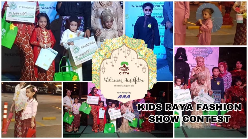 CITTA Mall Kids Raya Fashion Show Contest