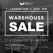 Unicorn Warehouse Clearance - Stationery from RM1