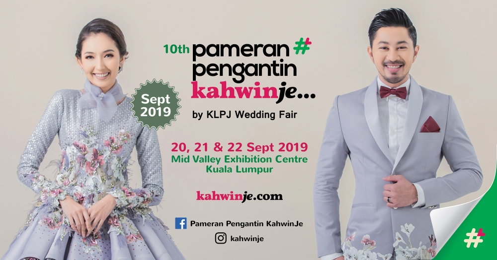 Pameran Pengantin KahwinJe by KLPJ Wedding Fair (SEPTEMBER 2019)