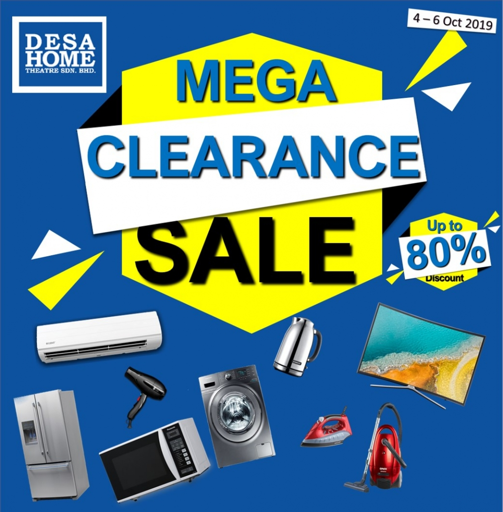 DesaHome MEGA CLEARANCE SALE [ Up To 80% OFF ]