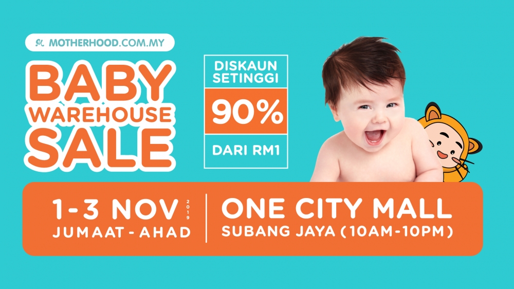Motherhood Baby Warehouse Sale is BACK at One City, USJ 25