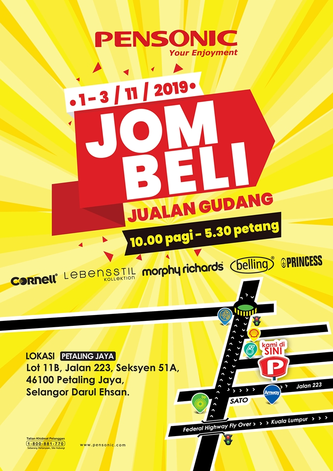 Pensonic Jom Beli Jualan Gudang - Year End Warehouse Clearance Sale