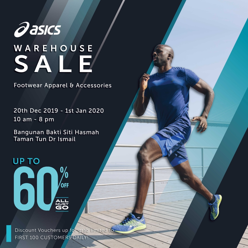 ASICS Warehouse Sale - Up To 60% OFF