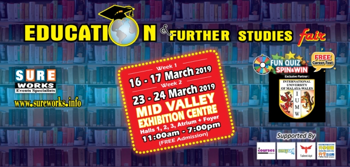 Education & Further Studies Fair (Week 1) 2019