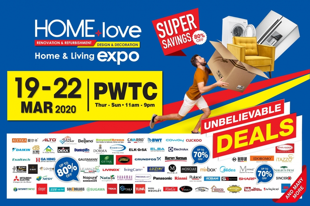 Cancelled !!! HOMElove Home & Living Expo 2020