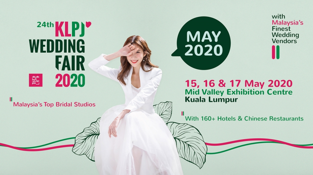 24th KLPJ Wedding Fair 2020 (MAY 2020) Mid Valley Exhibition Centre