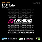 ARCHIDEX 2021 – The 21st International Architecture, Interior Design & Building Exhibition 2021,
